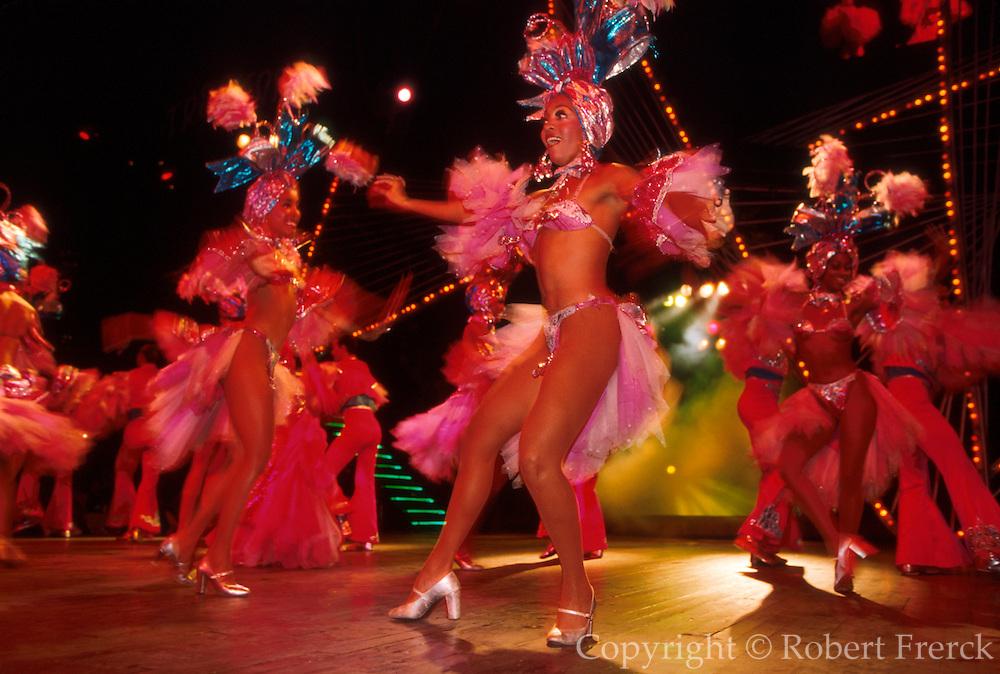 CUBA, HAVANA The Tropicana nightclub, Cuba's most famous cabaret, renown for risque dancers and spectacular performances