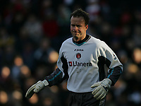 Photo: Lee Earle.<br /> Charlton Athletic v Liverpool. The Barclays Premiership. 16/12/2006. Thomas Myhre was in goal for Charlton.