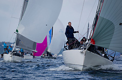 Largs Regatta Week 2017 <br /> Day 1<br /> <br /> `GBR9292C, Samurai J, Alan Macleod/A Knowles, Cove SC / CCC, J92<br /> <br /> Picture Marc Turner