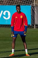 Inaki Williams during the training of Spanish national team under 21 at Ciudad del El futbol  in Madrid, Spain. March 21, 2017. (ALTERPHOTOS / Rodrigo Jimenez)