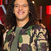NLD/Hilversum/20151211 - 2e Liveshow The Voice of Holland, TVOH, Ali B