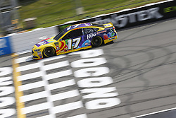 June 1, 2018 - Long Pond, Pennsylvania, United States of America - Ricky Stenhouse, Jr (17) brings his car down the frontstretch during qualifying for the Pocono 400 at Pocono Raceway in Long Pond, Pennsylvania. (Credit Image: © Chris Owens Asp Inc/ASP via ZUMA Wire)