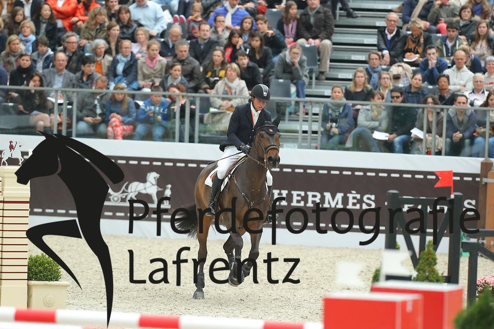 Bluman, Daniel, Sancha LS<br /> Paris - Saut Hérmes 2013<br /> © www.sportfotos-lafrentz.de/Stefan Lafrentz