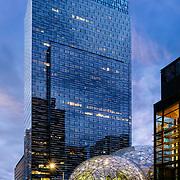 Amazon Day 1 building in Seattle, WA USA