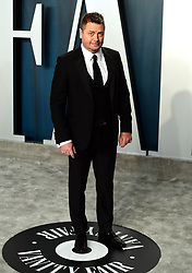 Nick Offerman attending the Vanity Fair Oscar Party held at the Wallis Annenberg Center for the Performing Arts in Beverly Hills, Los Angeles, California, USA.