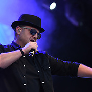 BOYZONE - Mikey Graham perform live at Kew The Music Festival 2018 on 14 July 2018, London, UK.