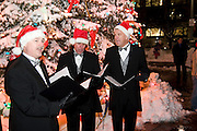 "Wisconsin USA, ""Celebration of lights"" Christmas celebration in Milwaukee, WI. singing Christmas carols, December 2006"