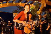 Ukulele player, Waikiki, Honolulu, Oahu, Hawaii, (editorial use only, no model release)