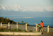 Look out over Kachemak Bay and the famous Homer Spit.