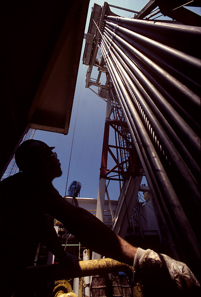 Worker in the oil and gas industry.