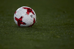 January 9, 2018 - Valencia, Valencia, Spain - Official ball of the game during the Copa del Rey Round of 16, second leg game between Valencia CF and Las Palmas at Mestalla on January 9, 2018 in Valencia, Spain  (Credit Image: © David Aliaga/NurPhoto via ZUMA Press)