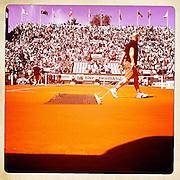 Roland Garros 2011. Paris, France. May 28th 2011..The Court Suzanne Lenglen