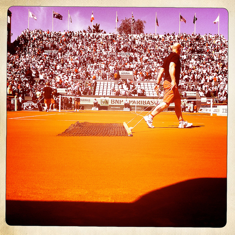 Roland Garros 2011. Paris, France. May 28th 2011..The Court Suzanne Lenglen