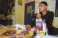 Drugs helpline worker UK