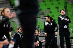 Uros Bregar  of RK Krim (SLO) during handball match between RK Krim Mercator (SLO) vs Metz Handball  (FRA) in DELO EHF Women's Champions League 2020/21, on January 16, 2021 in SRC Stozice, Ljubljana, Slovenia. Photo by Grega Valancic / Sportida