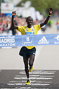 Francis Kiprop absolute winner of 2013 Madrid Marathon