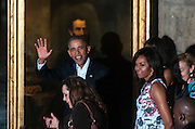 HAVANA, March 20, 2016 <br /> <br /> President Obama Visits Cuba<br /> <br />  U.S. President Barack Obama and his wife Michelle Obama tour the Old Havana March 20, 2016. Barack Obama arrived in Havana on Sunday for a three-day, historic visit to Cuba. <br /> ©Exclusivepix Media