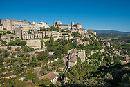 Gordes, in the Luberon region of Provence, France.