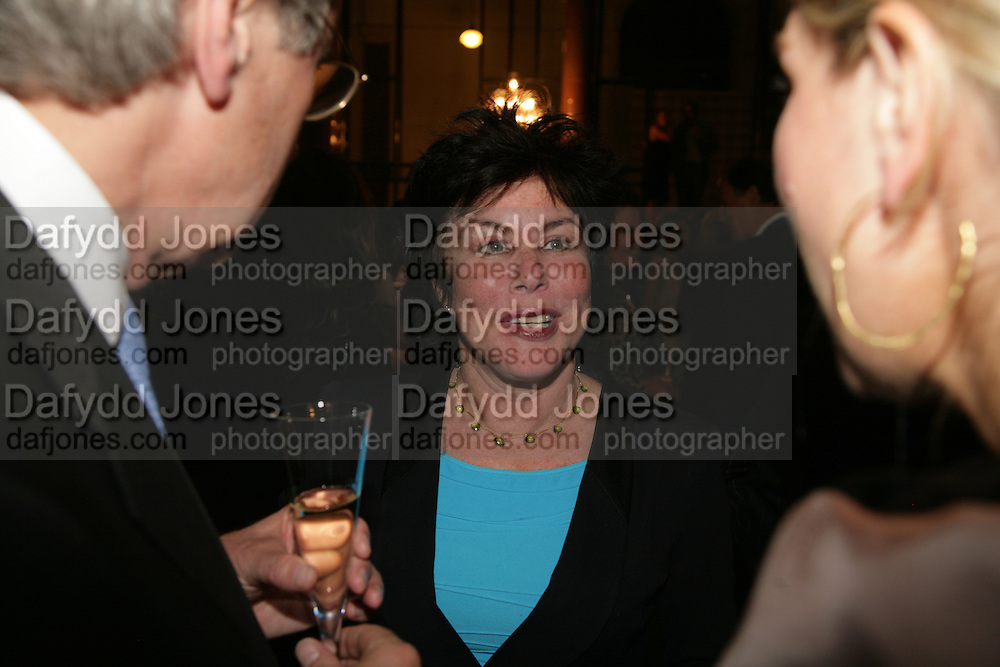 Ruby Wax, 10th Anniversary of Conde Nast Traveller magazine. Foreign and Comonwealth Office. Durbar Court. 10 September 2007. -DO NOT ARCHIVE-© Copyright Photograph by Dafydd Jones. 248 Clapham Rd. London SW9 0PZ. Tel 0207 820 0771. www.dafjones.com.