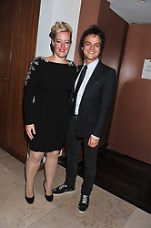 JAMIE CULLUM and ALICE RUSSELL at a party to relaunch the Met Bar at 19 Old Park Lane, London W1 on 5th October 2011.