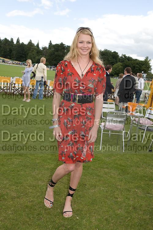 JODIE KIDD, 2008 Veuve Clicquot Gold Cup Polo final at Cowdray Park. Midhurst. 20 July 2008 *** Local Caption *** -DO NOT ARCHIVE-© Copyright Photograph by Dafydd Jones. 248 Clapham Rd. London SW9 0PZ. Tel 0207 820 0771. www.dafjones.com.