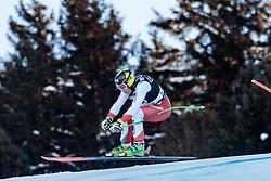 29.12.2017, Stelvio, Bormio, ITA, FIS Weltcup, Ski Alpin, alpine Kombination, Abfahrt, Herren, im Bild Justin Murisier (SUI) // Justin Murisier of Switzerland in action during the downhill competition for the men's Alpine combination of FIS Ski Alpine World Cup at the Stelvio course, Bormio, Italy on 2017/12/29. EXPA Pictures © 2017, PhotoCredit: EXPA/ Johann Groder