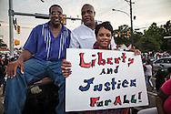Pastors at vigil for Alton Sterling in Baton Rouge.