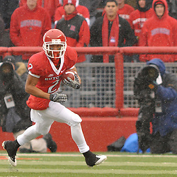 Dec 5, 2009; Piscataway, NJ, USA; Rutgers wide receiver Tim Brown (2) runs after a catch during first half NCAA Big East college football action between Rutgers and West Virginia at Rutgers Stadium.