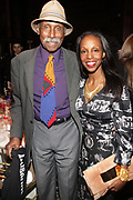 NEW YORK, NEW YORK-JUNE 4: (L-R) Photographic Artist Adger Cowans and Author/Arts Educator Sarah E. Lewis attend the 2019 Gordon Parks Foundation Awards Dinner and Auction Inside celebrating the Arts & Social Justice held at Cipriani 42nd Street on June 4, 2019 in New York City. (Photo by Terrence Jennings/terrencejennings.com)