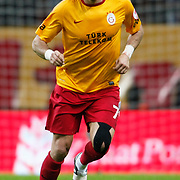 Galatasaray's Servet Cetin during their Turkey Cup matchday 3 soccer match Galatasaray between AdanaDemirspor at the Turk Telekom Arena at Aslantepe in Istanbul Turkey on Tuesday 10 January 2012. Photo by TURKPIX