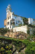 Ruins on Alcatraz Island, San Francisco, California