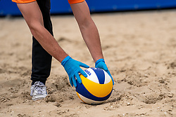Mikasa ball and covid rules during CEV Continental Cup Final Day 1 - Women on June 23, 2021 in The Hague