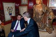 ALEXANDER VON SCHOENBURG, BRIONI FRAGRANCE LAUNCH. Annabels. Berkeley Sq. London. 14 October 2009.