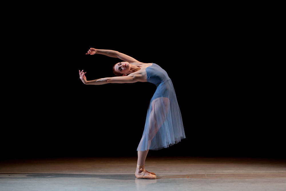NEW YORK, NY - MAR 25, 2015: Christiana Bennett of 'Ballet West' during a performance of 'The Sixth Beauty' at Joyce Theater in Manhattan. CREDIT: Emon Hassan for The New York Times