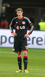 Football: Champions League<br /> Bayer 04 Leverkusen<br /> Stefan Kiessling *** Local Caption *** © pixathlon