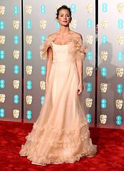 Millie Mackintosh attending the 72nd British Academy Film Awards held at the Royal Albert Hall, Kensington Gore, Kensington, London.