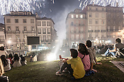 S. João festivities in Porto.