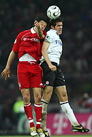 29.04.06 , v.l. Michael Ballack Bayern, Benjamin Huggel <br /> DFB-Pokal Finale Eintracht Frankfurt - FC Bayern Muenchen<br />  Bayern München<br /> Norway only