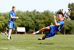 Tom Nichols of Bristol Rovers in action as Bristol Rovers train on their first day in Portugal - Mandatory by-line: Robbie Stephenson/JMP - 18/07/2017 - FOOTBALL - Colina Verde Golf & Sports Resort - Moncarapacho, England - Sky Bet League One