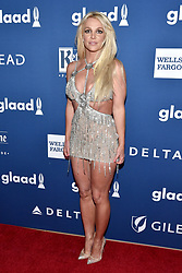 Britney Spears attends the 29th Annual GLAAD Media Awards at The Beverly Hilton Hotel on April 12, 2018 in Beverly Hills, California. Photo by Lionel Hahn/ABACAPRESS.COM