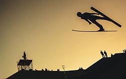 29.09.2018, Energie AG Skisprung Arena, Hinzenbach, AUT, FIS Ski Sprung, Sommer Grand Prix, Hinzenbach, im Bild Jakub Wolny (POL) // Jakub Wolny of Poland during FIS Ski Jumping Summer Grand Prix at the Energie AG Skisprung Arena, Hinzenbach, Austria on 2018/09/29. EXPA Pictures © 2018, PhotoCredit: EXPA/ JFK