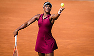 Sloane Stephens of the United States in action during the first round of the 2021 Internazionali BNL d'Italia, WTA 1000 tennis tournament on May 11, 2021 at Foro Italico in Rome, Italy - Photo Rob Prange / Spain ProSportsImages / DPPI / ProSportsImages / DPPI