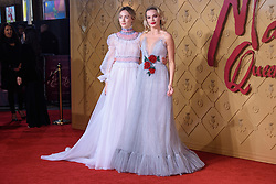 Margot Robbie and Saoirse Ronan attending the premiere of Mary Queen of Scots, at the Cineworld cinema in Leicester Square, London. Picture date: Monday December 10, 2018. Photo credit should read: Matt Crossick/ EMPICS Entertainment.