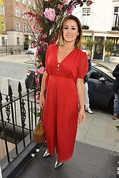Natalie Pinkham at the launch of the Beulah Flagship store, 77 Elizabeth Street, London England. 16 May 2018.
