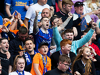 Football - 2021 / 2022 Scottish Premier League - Glasgow Rangers vs Celtic - Ibrox Stadium - Sunday 29th August 2021<br /> <br /> Rangers fans are seen before the match<br /> <br /> Credit: COLORSPORT/Bruce White