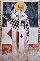 Georgie, Koutaissi,  monastère de Gelati, patrimoine mondial de l'UNESCO, interieur, fresque // Georgia, Kutaisi, Gelati monastery, UNESCO world heritage, interior, frescoes
