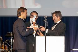 Rookie of the Year, Simon Morssinkhof, Peter Weinberg, Patrick Spits, Ophélie Fontana, Stefaan Lammens<br /> Equigala - Dockx Dome - Brussel 2019<br /> © Hippo Foto - Dirk Caremans<br /> 22/01/2019