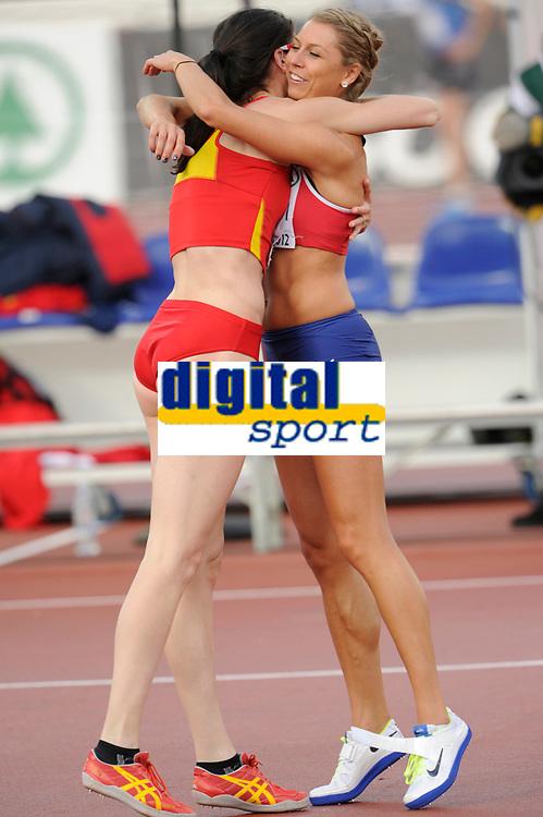 ATHLETICS - EUROPEAN CHAMPIONSHIPS 2012 - HELSINKI (FIN) - DAY 2 - 28/06/2012 - PHOTO STEPHANE KEMPINAIRE / KMSP / DPPI - <br /> HIGH JUMP - WOMEN - FINAL - WINNER - GOLD MEDAL - RUTH BEITA (ESP)