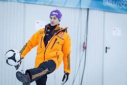 31.12.2013, Olympiaschanze, Garmisch Partenkirchen, GER, FIS Ski Sprung Weltcup, 62. Vierschanzentournee, Training, im Bild Martin Schmitt (GER) // Martin Schmitt (GER) during practice Jump of 62nd Four Hills Tournament of FIS Ski Jumping World Cup at the Olympiaschanze, Garmisch Partenkirchen, Germany on 2013/12/31. EXPA Pictures © 2013, PhotoCredit: EXPA/ JFK