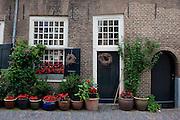 17th century houses on Nicolaaskerkhof, Utrecht